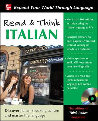 Read and Think Italian with Audio CD - Think Italian! Magazine (Creator)
