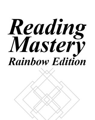 Reading Mastery Rainbow Edition Grades K-1, Level 1, Takehome Workbook B (Package of 5) - McGraw-Hill Education, and Engelmann, Siegfried, and Bruner, Elaine C.