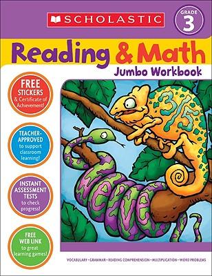 Reading & Math Jumbo Workbook: Grade 3 - Cooper, Terry (Editor)