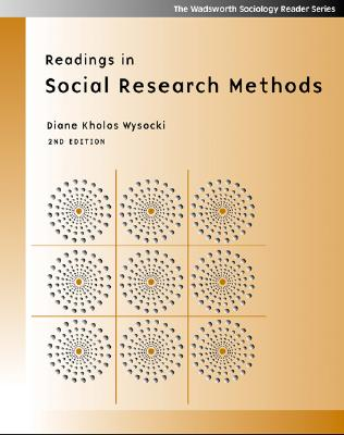 Readings in Social Research Methods - Wysocki, Diane Kholos