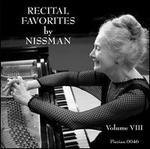 Recital Favorites by Nissman, Vol. 8