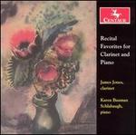 Recital Favorites for Clarinet and Piano