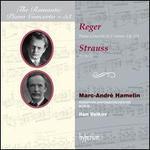 Reger: Piano Concerto in F minor, Op. 114; Strauss: Burleske