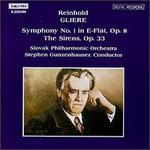 Reinhold Gliere: Symphony No. 1 in E flat; The Sirens