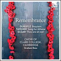 Remembrance - Guy Johnston (cello); Jennifer Johnston (mezzo-soprano); Matthew Jorysz (organ); Neal Davies (bass);...