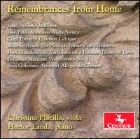 Remembrances from Home - Christina Placilla (viola); Hector Landa (piano)