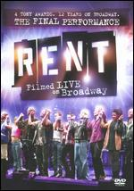 Rent: Filmed Live on Broadway [WS]