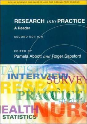 Research Into Practice 2/E - Abbott, Andrew, and Abbott, Pamela, and Sapsford, Roger, Dr.
