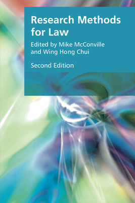 Research Methods for Law - McConville, Michael