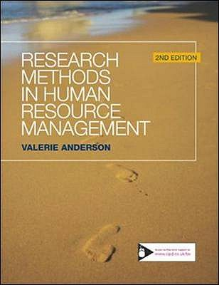 Research Methods in Human Resource Management - Anderson, Valerie