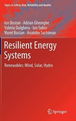 Resilient Energy Systems: Renewables: Wind, Solar, Hydro - Bostan, Ion, and Gheorghe, Adrian V, and Dulgheru, Valeriu