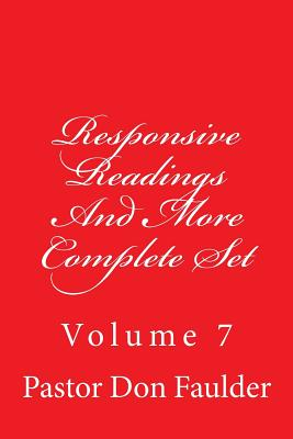 Responsive Readings And More: Complete Set - Carpenter, The Village, and Emerson, Charles Lee (Editor), and Faulder, Pastor Don