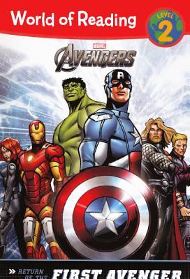 Return of the First Avenger - Siglain, Michael, and Garbett, Lee (Illustrator), and Lucas, John (Illustrator)