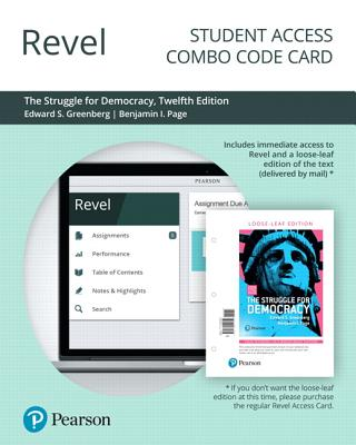 Revel for the Struggle for Democracy, 2016 Presidential Election Edition -- Combo Access Card - Greenberg, Edward S, and Page, Benjamin I