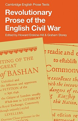 Revolutionary Prose of the English Civil War - Storey, Graham (Editor)