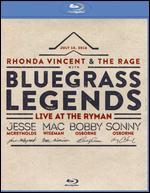 Rhonda Vincent and the Rage with Bluegrass Legends: Live at the Ryman [Blu-ray]