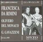 Riccardo Zadonai: Francesca da Rimini