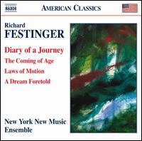 Richard Festinger: Diary of a Journey - Jo Ellen Miller (soprano); Lois Martin (viola); Margaret A. Kampmeier (piano); New York New Music Ensemble;...