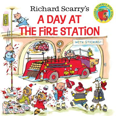Richard Scarry's a Day at the Fire Station - Scarry, Huck