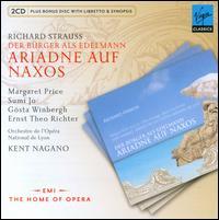 Richard Strauss: Der Bürger als Edelmann; Ariadne auf Naxos - Alfred Kuhn (vocals); Brigitte Fournier (vocals); Doris Lamprecht (vocals); Ernst Theo Richter (vocals);...
