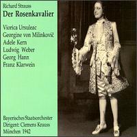 Richard Strauss: Der Rosenkavalier - Adele Kern (vocals); Emil Graf (vocals); Franz Klarwein (vocals); Georg Hann (vocals); Georg Wieter (vocals);...