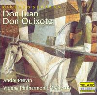 Richard Strauss: Don Juan; Don Quixote - Franz Bartolomey (cello); Heinrich Koll (viola); Rainer Kuchl (violin); Wiener Philharmoniker; André Previn (conductor)