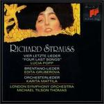 Richard Strauss: Four Last Songs; Brentano-Lieder; Orchesterlieder