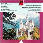 Richard Strauss: Sexturo de Capriccio; Wagner: Siegfried Idyll; Schoenberg: Sextuor La Nuit transfigur?e