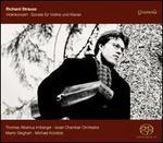 Richard Strauss: Violinkonzert; Sonate f�r Violin und Klavier