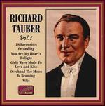 Richard Tauber Favorites, Vol. 1