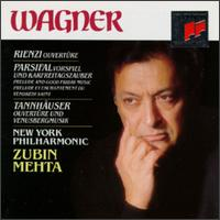 Richard Wagner: Orchestral Music - Westminster Choir (choir, chorus); New York Philharmonic; Zubin Mehta (conductor)
