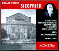 Richard Wagner: Siegfried (Bayreuth, 1958) - Astrid Varnay (vocals); Dorothea Siebert (vocals); Frans Andersson (vocals); Gerhard Stolze (vocals); Hans Hotter (vocals);...