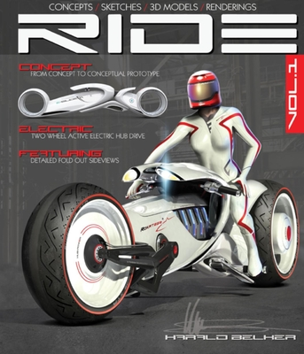 Ride: Futuristic Electric Motorcycle Concept - Belker, Harald