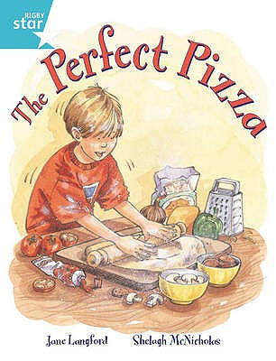 Rigby Star Guided 2, Turquoise Level: The Perfect Pizza Pupil Book (single) - Langford, Jane