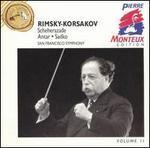 Rimsky-Korsakov: Scheherazade; Antar; Sadko