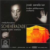 Rimsky-Korsakov: Scheherazade - Joakim Svenheden (violin); London Philharmonic Orchestra; José Serebrier (conductor)