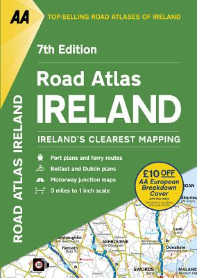 Road Atlas Ireland - AA Publishing