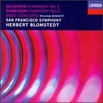 Roger Sessions: Symphony No. 2; John Harbison: Symphony No. 2; Oboe Concerto