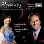 Romanza: Transcriptions for Clarinet and Piano