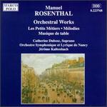 Rosenthal: Orchestral Works