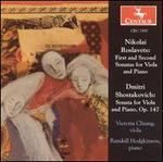 Roslavets & Shostakovich: Works for Viola & Piano