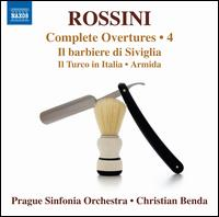 Rossini: Complete Overtures, Vol. 4 - Prague Sinfonia Orchestra; Christian Benda (conductor)