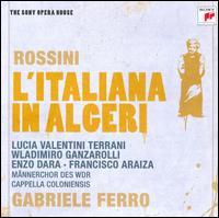 Rossini: L'Italiana in Algeri - Alessandro Corbelli (vocals); Enzo Dara (vocals); Francisco Araiza (vocals); Georg Fischer (fortepiano);...