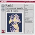 Rossini: Petite messe solennelle; Messa di Milano - John Birch (organ); Nuccia Focile (soprano); Raúl Giménez (tenor); Simone Alaimo (baritone); Susanne Mentzer (mezzo-soprano);...