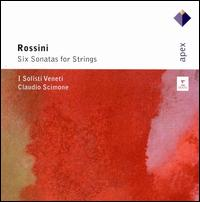 Rossini: Six Sonatas for Strings - I Solisti Veneti; Claudio Scimone (conductor)