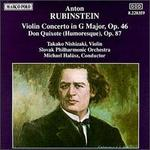 Rubinstein: Violin Concerto, Op. 46; Don Quixote, Op. 87