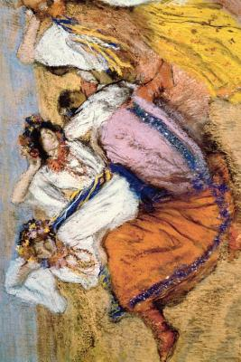 ''Russian Dancers'' by Edgar Degas: Journal (Blank / Lined) - Press, Ted E Bear