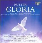 Rutter: Gloria; Bernstein: Chichester Psalms; Poulenc: Quatre Petites Pri�res de St. Fran�ois d'Assise