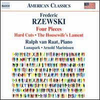 Rzewski: Four Pieces; Hard Cuts; The Housewife's Lament - Arnold Marinissen (percussion); Lunapark; Ralph van Raat (piano)