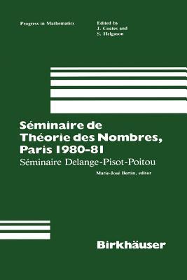 Séminaire de Théorie Des Nombres, Paris 1987-88 - Goldstein, Catherine